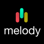 the melody app icon square